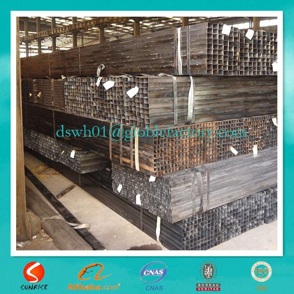 round square rectangular high frequency cold rolled iron tube