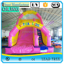 2016 Big PVC inflatable slide N slip for pool / giant inflatable slides for sale