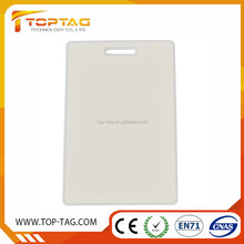 HF Rfid thick blank white card business card for bus/ticket/key