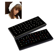 Surgical Steel Body Piercing Jewelry 60pcs/set Crystal Nose Bone Nose Studs