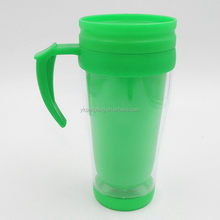 China supplier excellent quality double wall plastic tumbler