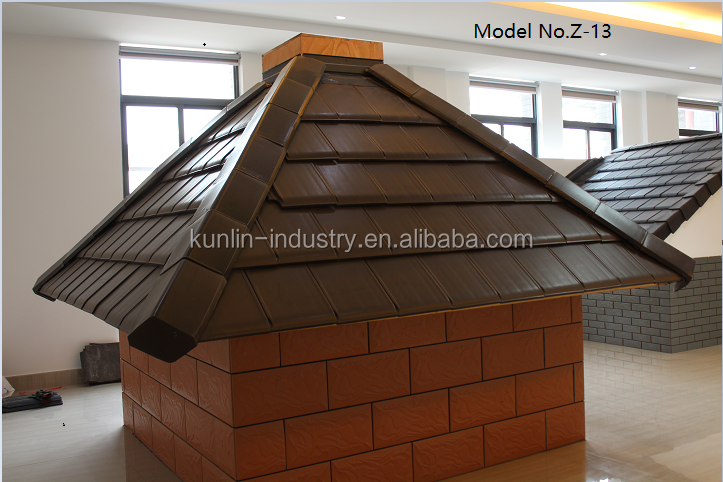 German New Classical Type Color clay roof tile