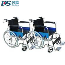 Best seller medical care portable hoepital commode manual wheelchairs for cerebral palsy children