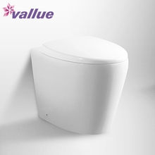 Popular european style decoration ceramic unique commode eco flush mini toilet