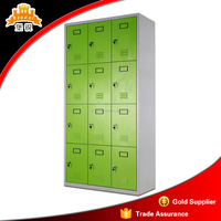 12 door pad lock storage steel locker