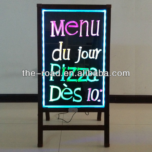 Led Restaurant Menu Board Imports And Exports Definition