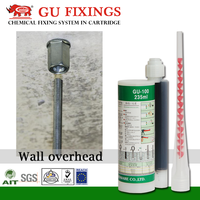 235ml adhesive anchoring system for rebar bolts nuts