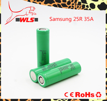 Best selling & Wholesale Authentic green Samsung 25R 18650 samsung inr18650-25r 2500mah and se us18650vt battery