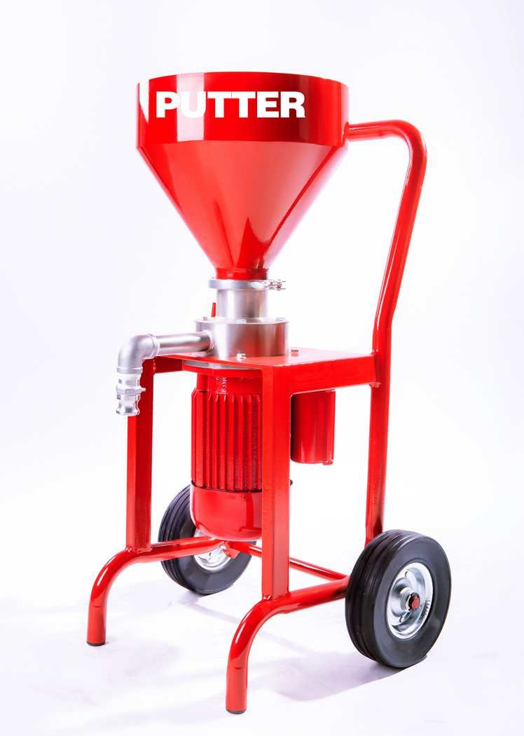 Newly easy putty Grinding machine with Perfect spraying appearance