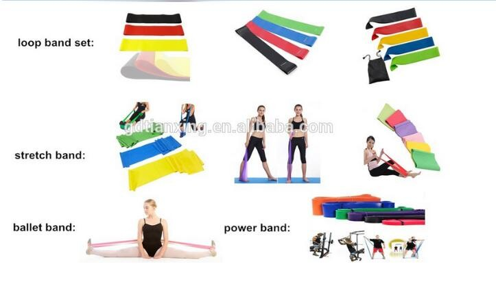 5 Levels Mini Loop Band Fitness Latex Band Resistance Exercise Loop Band