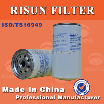 Yuchai truck engine T9000-1105140 CX1017F fuel filter oil filters customized cheap price high quality for OEM