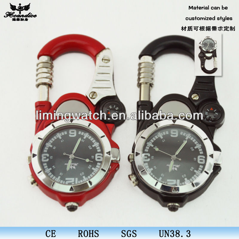 compass mountain climbing hanging watches
