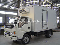 truck body for transport company cold store van