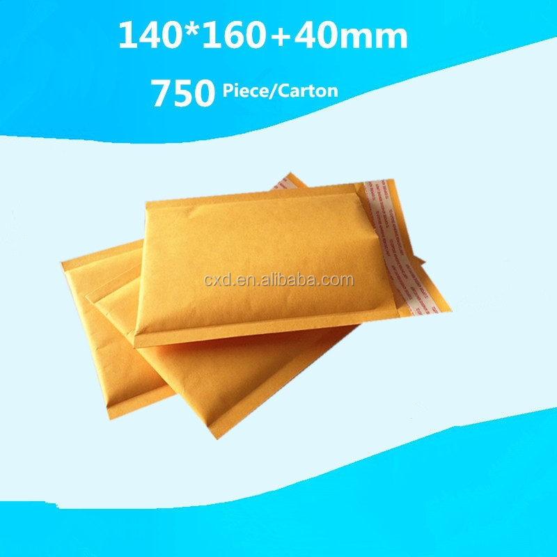 Kraft Paper Air Bubble Envelopes/Standard Size Bubble Mailer