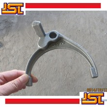customized Alloy steel investment casting Dials the fork / shift fork