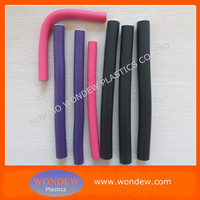 Rubber foam bendy rollers for hair styling