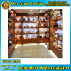 Top design promotional shelving wooden display shelf gift shop display ideas
