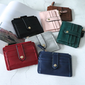 Women's Short Zipper  Fashion Card  Wallet Coin Purse