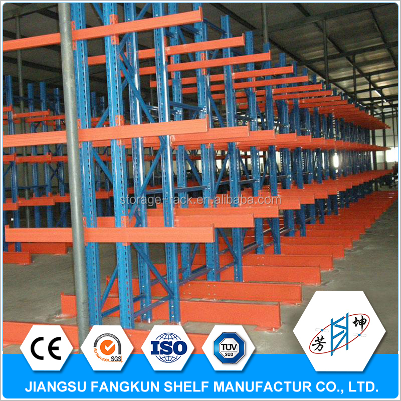 nuevos productos 2017 warehouse storage cantilever rack