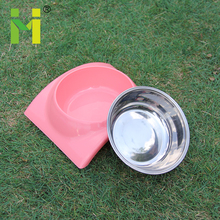 heated pet puzzle feeding bowl dish stainless steel cocker dog bowl