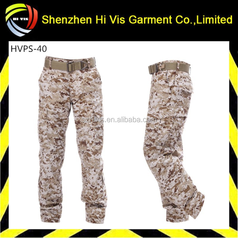 custom military trousers pants , high quality men military cargo pants