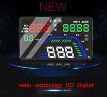 HUD Q7 GPS Speedometer Aftermarket heads up display for cars