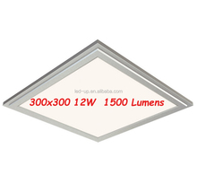 Long Warranty 12W 300x300 Square LED Flat Panel 1500 Lumens
