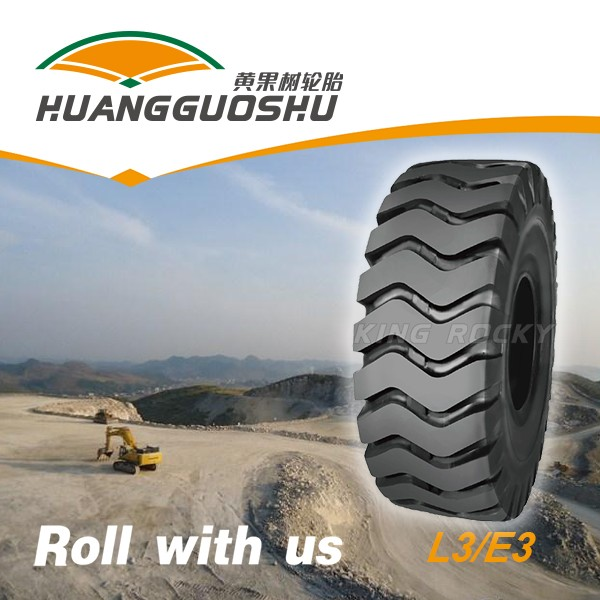 Wide tread cut resistant otr grader tire 14.00-24