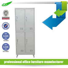 hot selling wardrobe safe four compartment 4 door steel locker