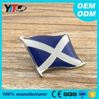 Wholesale fashion nameplates custom made epoxy metal pin crafts emblems for clothes badges high quality