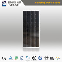 Best PV Supplier Perlight Hot Sale Mono 150 Watt Photovoltaic Solar Panel