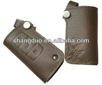 High quality Leather car key case