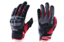 Man's Leather Motorcycle Racing Gloves