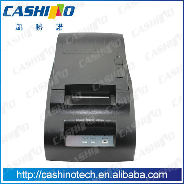 58mm CSN-58III 12V desktop thermal restaurant receipt printer with RS232 USB