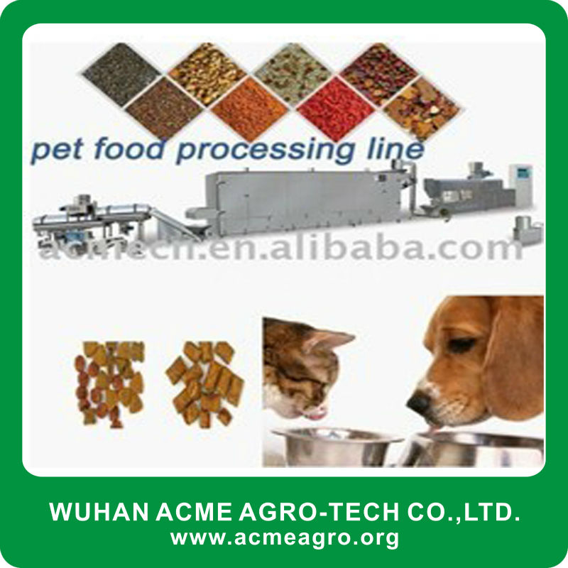 Pet/Fish food processing line