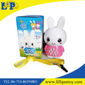 2 styles assorted cute plastic rabbit learning machine toy