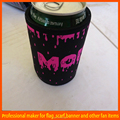 made in china indoor full printing beer holder lanyard