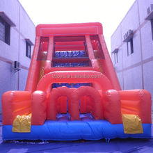 barge inflatable slide , NO.2464 china inflatable slide wholesale dolphin inflatable slides