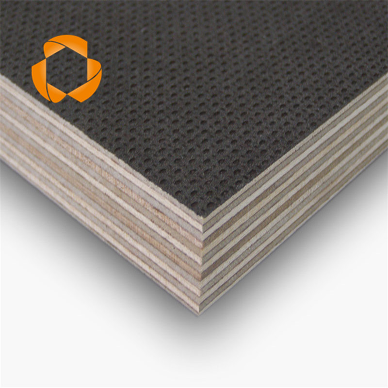 12mm brich core black antislip film faced plywood for construction