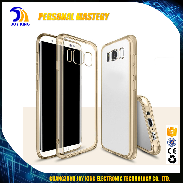 For galaxy s8 Plus Cases Transparent Clear Acrylic Soft TPU Casing Accessories for Cell Mobile Phone Case