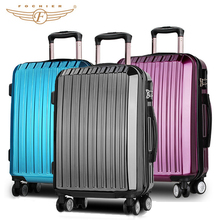 Hard Shell Fashion Travel Polycarbonate Polo Luggage Trolley Bags