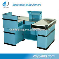 new style supermarket checkout stand with low price