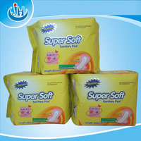 Factory OEM high absorbent disposable dryness pad/lady sanitary napkin