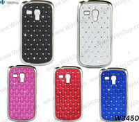 For Samsung Galaxy S3 mini i8190 Luxury Cute Bling Rhinestone Crystal Diamond Case.Different Colors