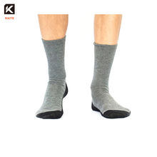 KT-3-1559 nano silver socks silver thread diabetic socks