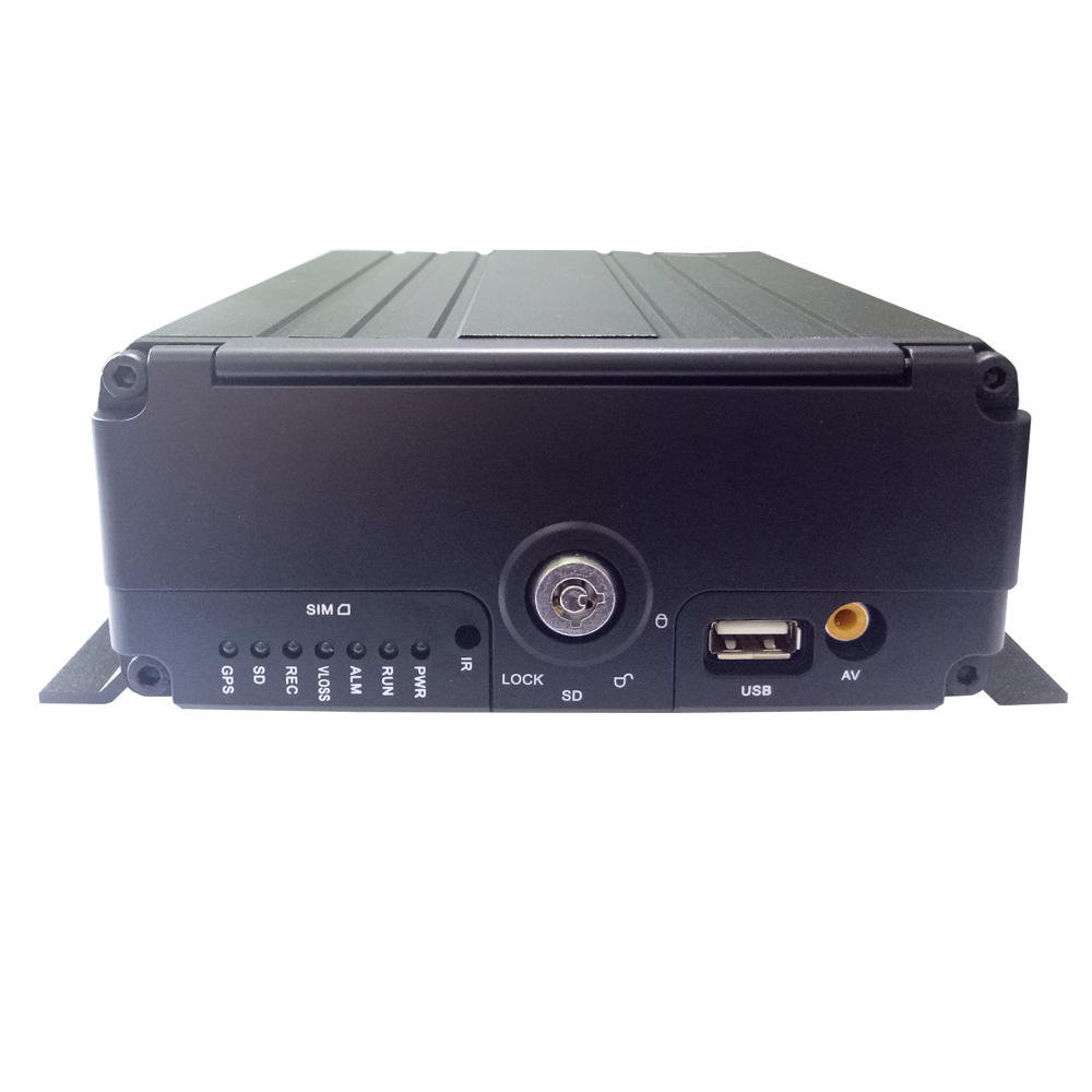 HYFMDVR factory direct <strong>4</strong> <strong>channel</strong> 1080P HD SDI car <strong>DVR</strong> car MDVR car monitoring host