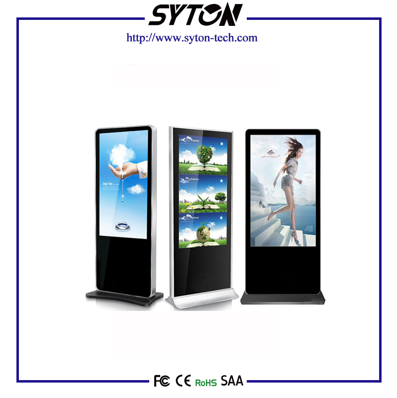 floor Standing Advertisement Display Indoor Digital Signage With Global Guarantee