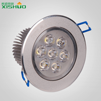 2015 Round led down light online shipping factory price 7w 9w led lux down light CE ROHS FCC
