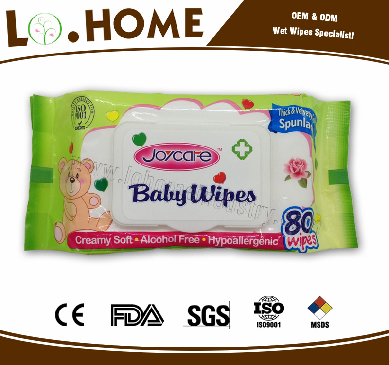 Yes Alcohol Free and Baby use,Household Type Private Label Baby Wipe Factory