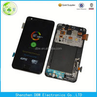 With touch screen digitizer assembly replacement LCD screen for Samsung galaxy s2 LCD